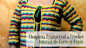 Chaqueta Tejida con Ganchillo Tutorial en Video