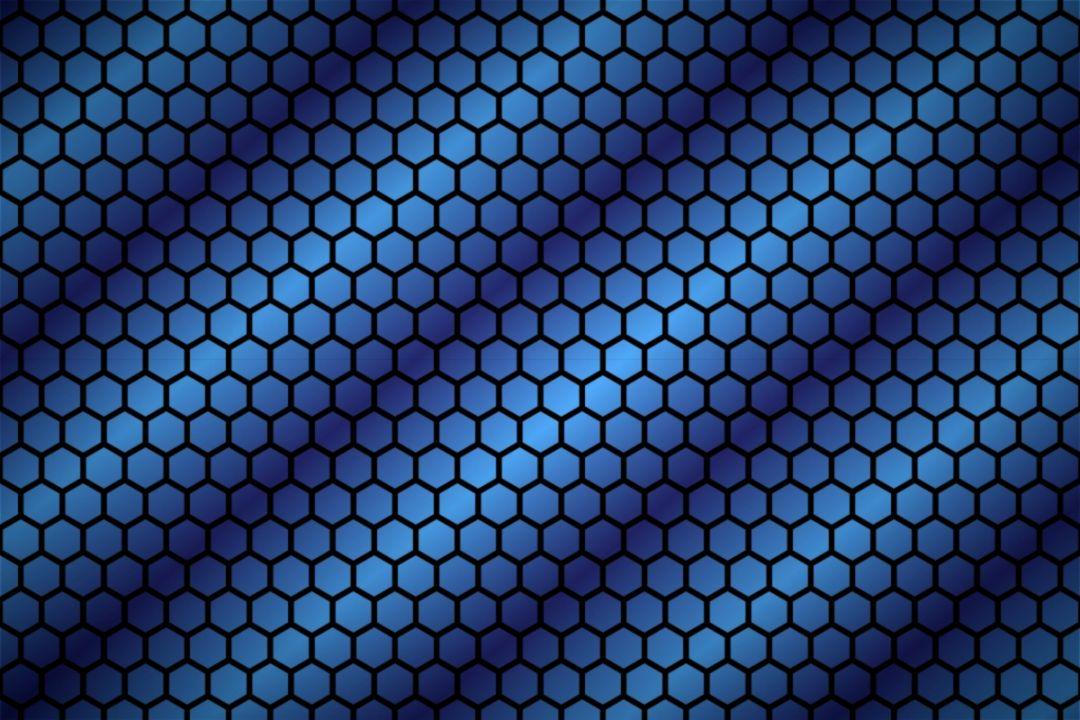 Blue Concentric Circles Circulos Azul Concentricos wallpaper