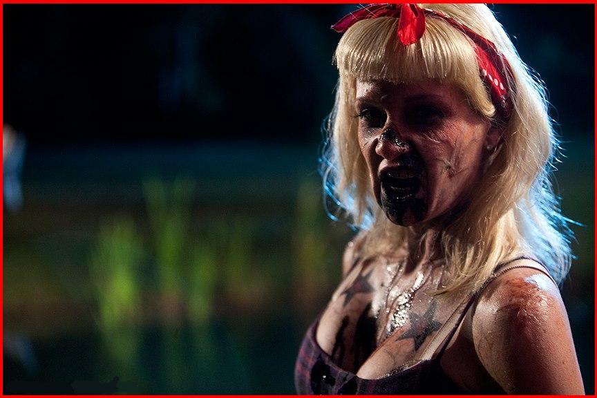 Rockabilly Zombie Girl