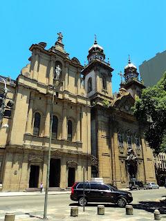 Fachada da Antiga Catedral do Rio de Janeiro