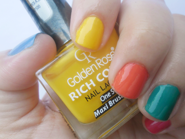 Golden Rose Rich Color Nail Lacquer 48