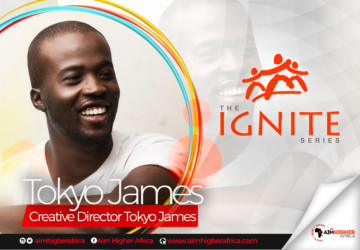 """""""It took 15 years to get here and I am still working"""" – Tokyo James on Aim Higher Africa Ignite Series"""