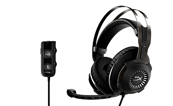 HyperX-audífono-juegos-sonido-Dolby-Surround-Plug-and-Play-Cloud-Revolver-S