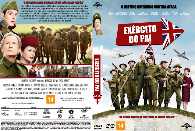 Capa DVD Exército Do Pai