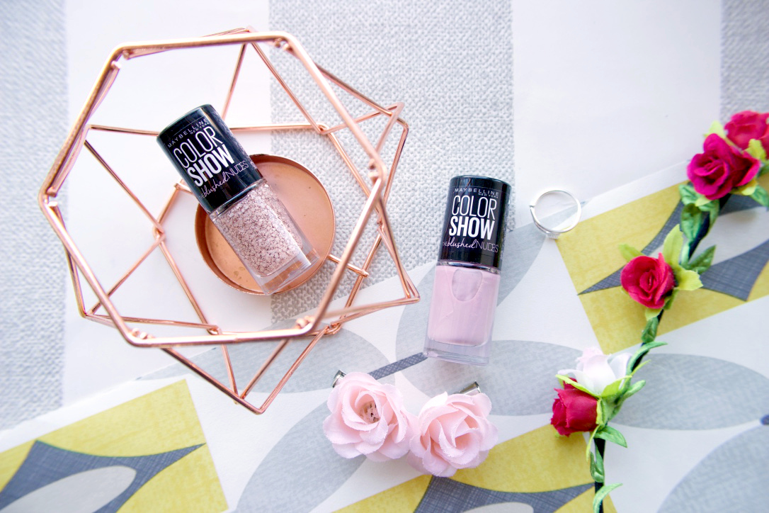 Manicure Monday Maybelline Blushed Nudes