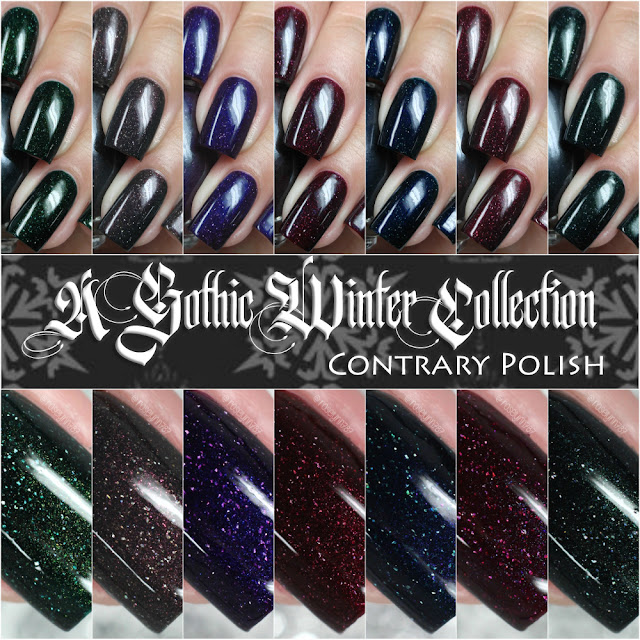 Contrary Polish - A Gothic Winter Collection