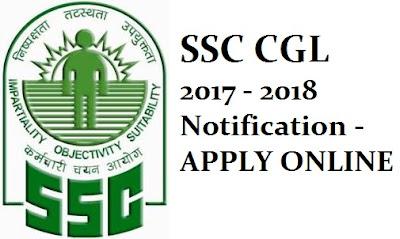 SSC CGL 2017 - 2018