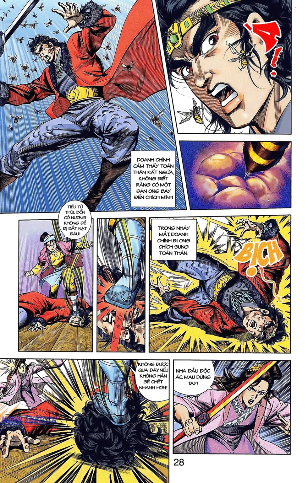 Tần Vương Doanh Chính chapter 12 trang 18