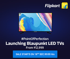 Launching Blaupunkt LED TVs