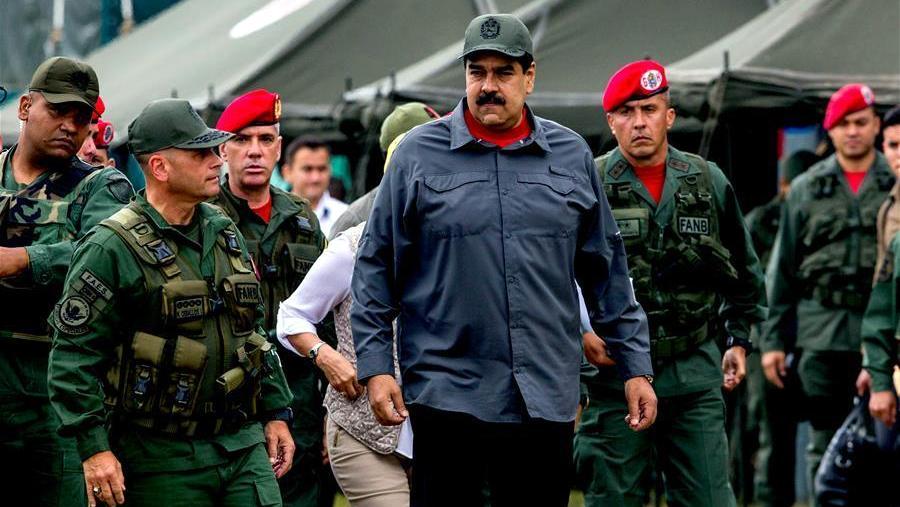 ¡Como es la columna militar que sostiene a Maduro?