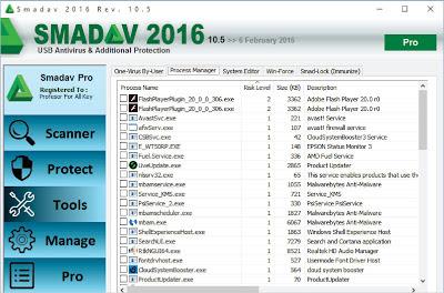 Smadav Pro Rev 10.5 Plus Serial Number Update 6 Februari 2016