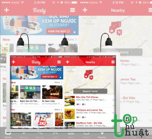 """Foody - ứng dụng du lịch của """"thổ dân"""" công nghệ"""