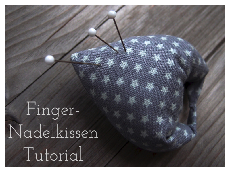 Finger-Nadelkissen Tutorial DIY