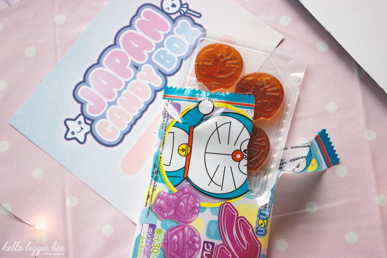 Bandai Doraemon Grape Gummy