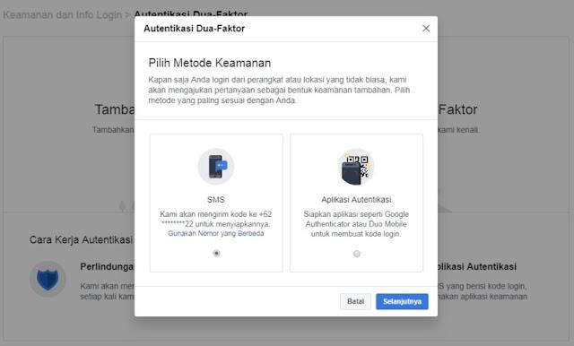 Cara ampuh agar akun facebook tetap aman