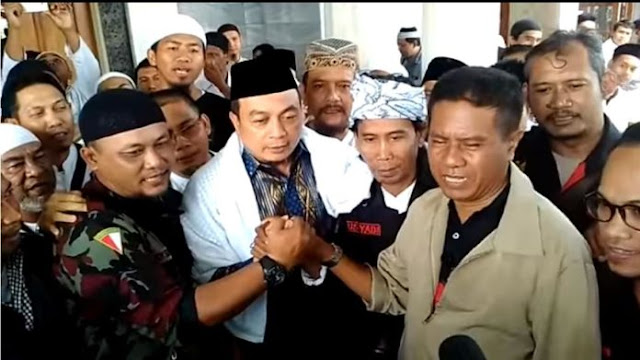 Alhamdulillah, Bachtiar Nasir Ikrarkan Pancasila Sebagai Ideologi Indonesia Dihadapan Tokoh NU dan Tokoh Bali