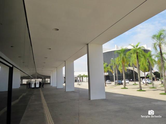 Vista do Pavilhão da Criatividade - Memorial da América Latina - São Paulo