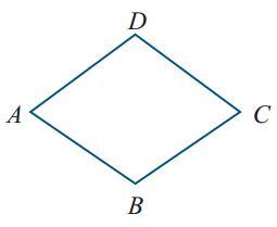 Kunci Jawaban Perhatikan gambar belah ketupat ABCD. ∠A ...
