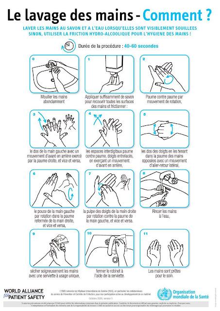 lavage des mains technique infirmier