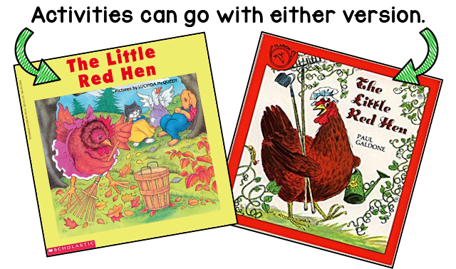 The Little Red Hen Version