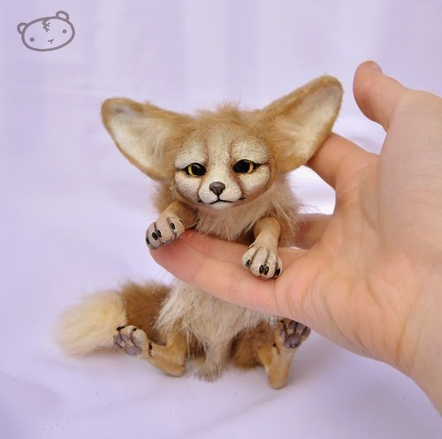 02-Little-Fennec-Fox-Lisa-Toms-Maker-of-Mythical-Creatures-and-Pet-Dolls-www-designstack-co