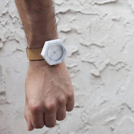 Marble Wrist Watch