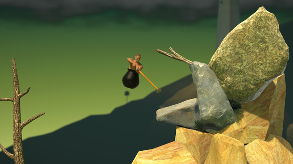 Getting Over It with Bennett Foddy Full Version PC GAME Screenshot 1