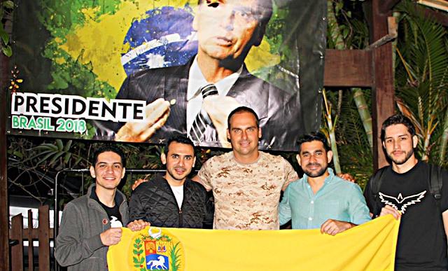 Bolsonaro declara como falsa oposición a la MUD por postergar salida de Maduro
