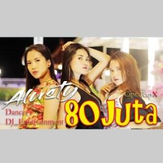 Download Lagu MP3 Video Goyang HOT Alusty - 80 Juta