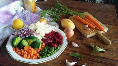 Verduras para hervido