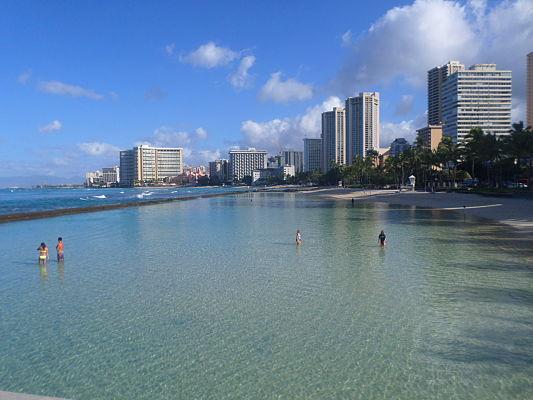 waikiki praia havai