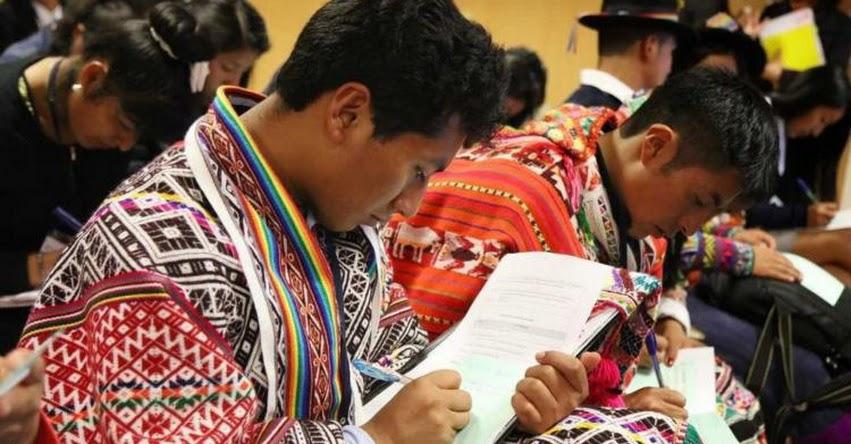BECA 18: Talentos que rendirán examen proceden del 93% de distritos del Perú - PRONABEC - www.pronabec.gob.pe