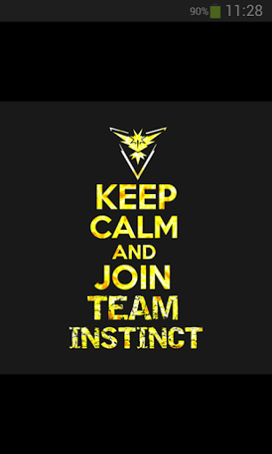 Keep Calm And Join Team Instinct