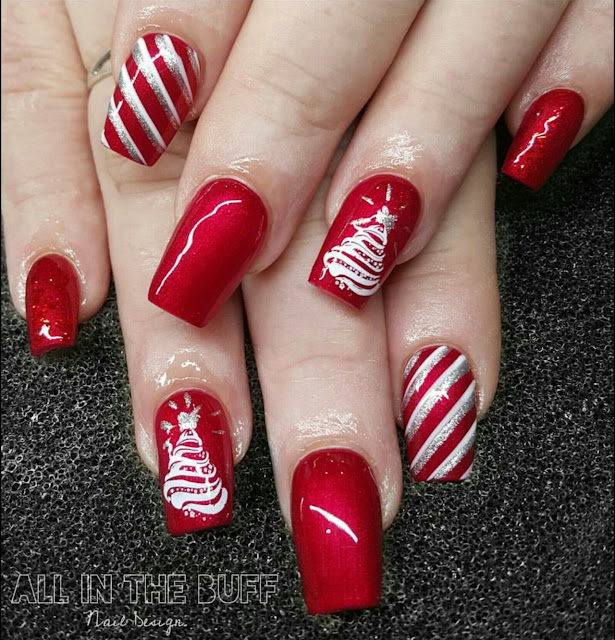 Retro Kimmers Blog Kimmers Favorite Holiday Nail Art For 2017