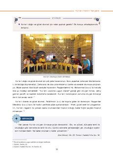 6. Sınıf Kuranı Kerim Ders Kitabı Cevapları Dikey Yayınları Sayfa 15