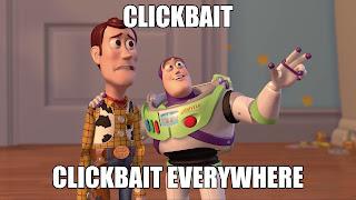Behind Clickbait Headlines
