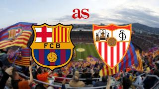 بث مباشر مباراة برشلونة و إشبيلية مباشر في كأس ملك إسبانيا