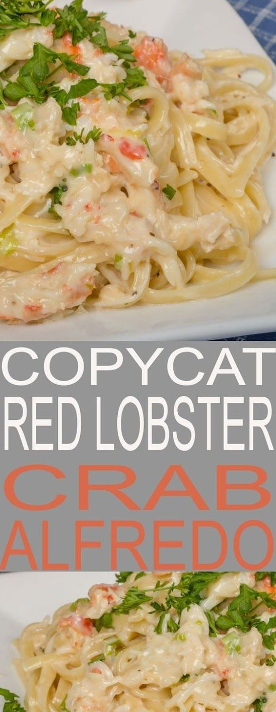 Copycat Red Lobster Crab Alfredo