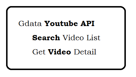 Zend Gdata Youtube API - Search Video - View Video Detail