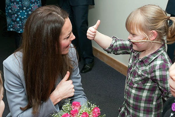 Princess Catherine visited the Children's Hospice