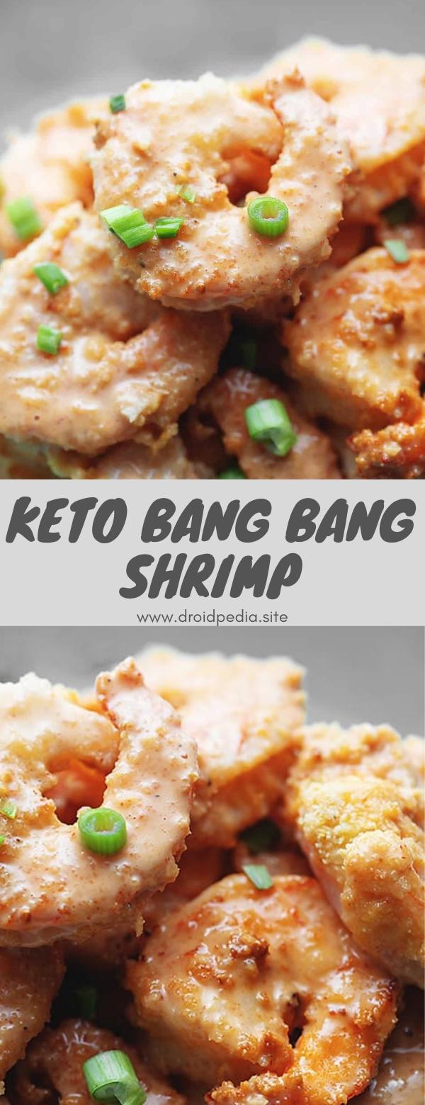 Keto Bang Bang Shrimp #sidedish #appetizer #lowcarb #keto #bangbang #shrimp