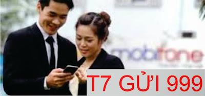 Đăng ký gói T7 của Mobifone