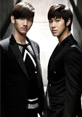Foto de dos miembros del DBSK o TVXQ