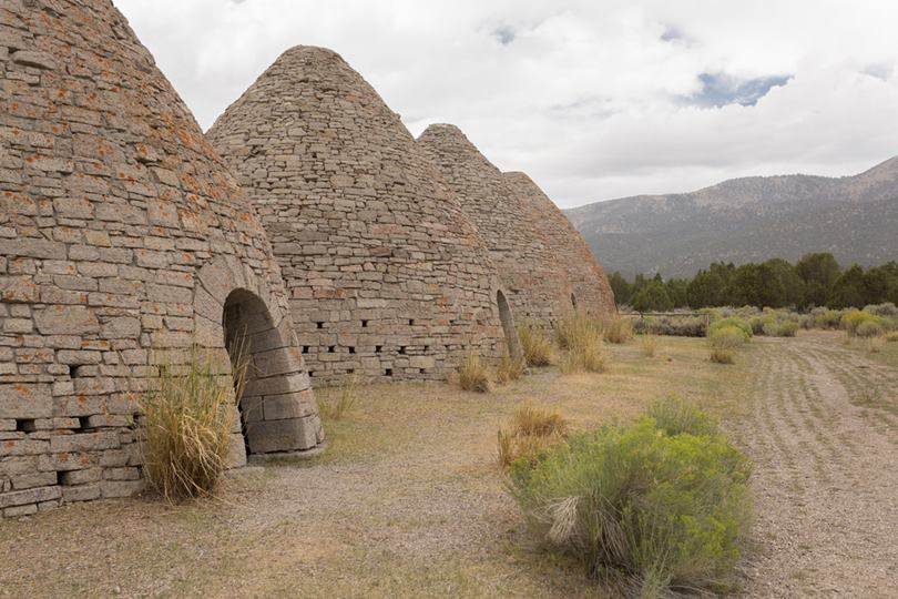 Ward Charcoal Ovens are actually coal kilns or coal furnaces operated from 1876 to 1879, they were coal-fired stoves from pine wood and juniper wood.