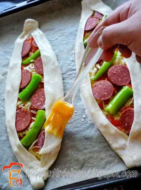 Citra S Home Diary Sucuklu Pİde Turkish Style Sausage Pizza