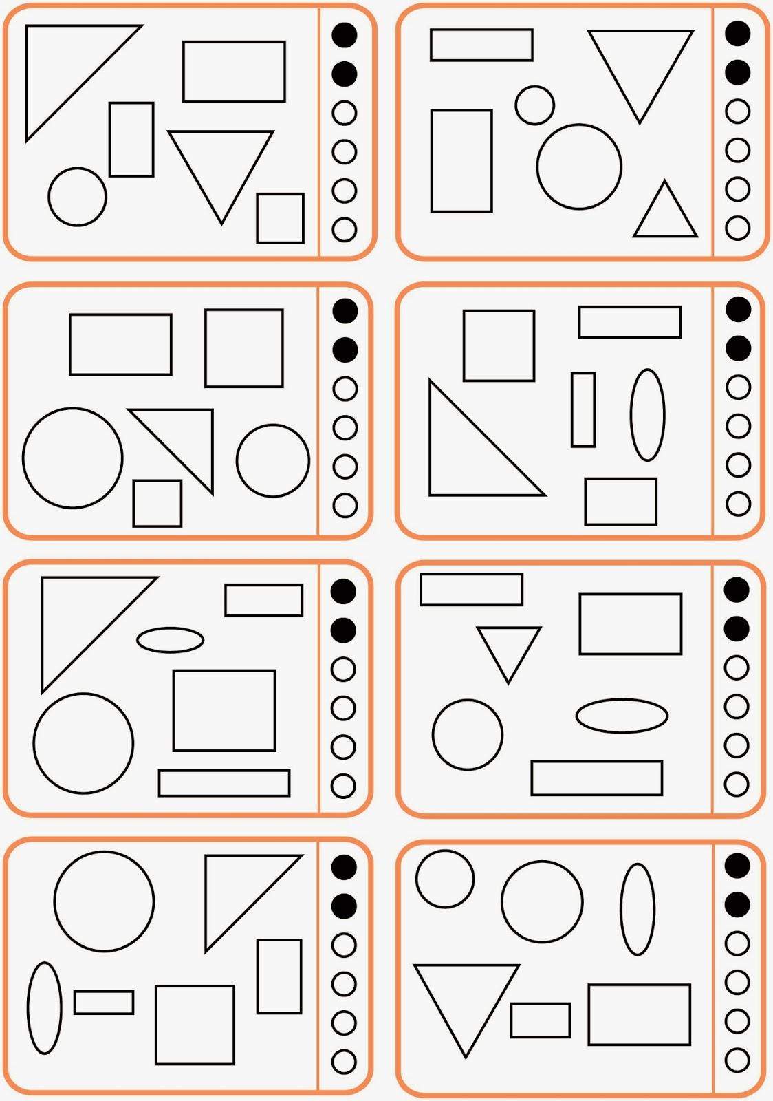 Funky Winkel Und Formen Arbeitsblatt Festooning - Kindergarten ...