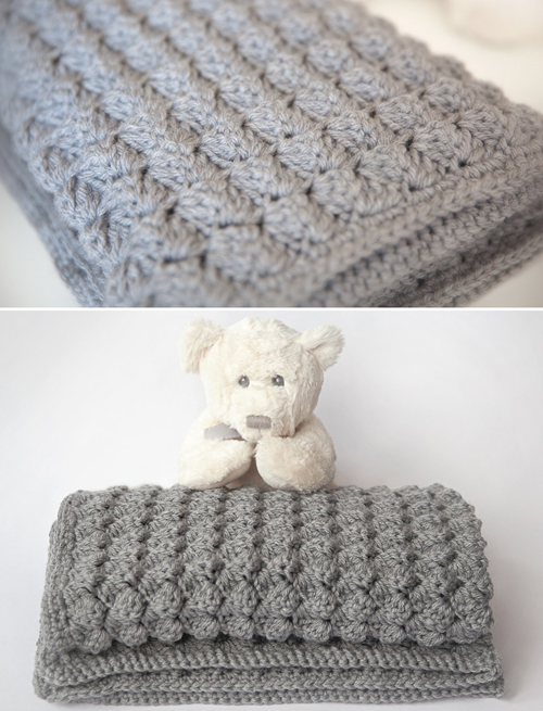 Free Crochet Patterns Childrens Blankets : Crochet For Children: Cozy & Free Baby Blanket Crochet Pattern