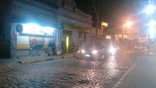 Ousadia: bandidos assaltam novamente o Banco em Alagoa Grande. Veja fotos e vídeos