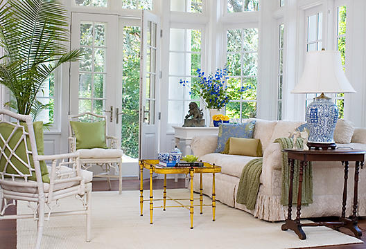 Chinoiserie chic warm weather chinoiserie for Florida style windows