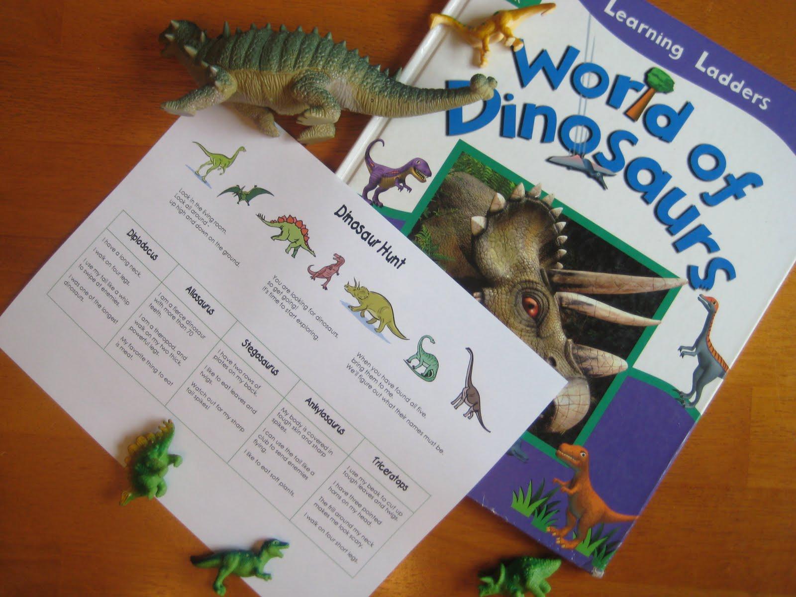 Relentlessly Fun Deceptively Educational Dinosaur Hunt